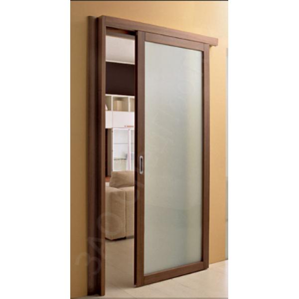 Раздвижная дверь с максимальным остеклением