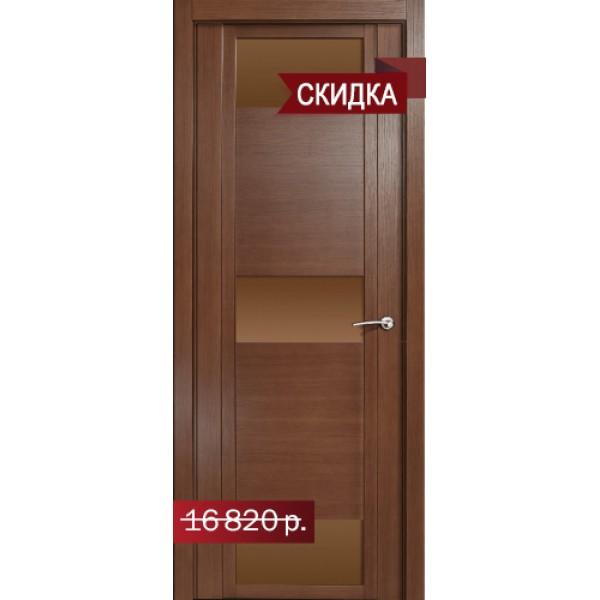 """Qdo R (стекло бронза) Дуб палисандр Остекление """"Бронза"""""""